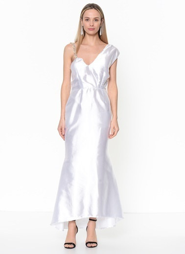 Tantrona Elbise Beyaz